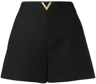 Valentino VGOLD high-waisted shorts