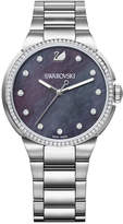 Swarovski Crystal Plated Stainless Steel Watch