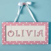 Cottage Personalized Wall Plaque in Choice of Color