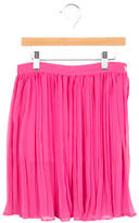 MSGM Girls' Pleated A-Line Skirt w/ Tags