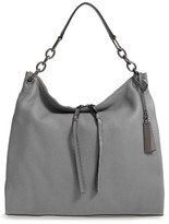 Vince Camuto Avin Leather Hobo - Black