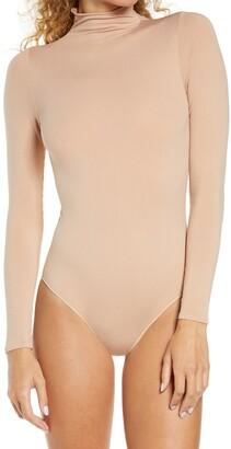 SKIMS Mock Neck Long Sleeve Bodysuit