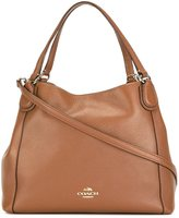 Coach double handles tote - women - Leather - One Size