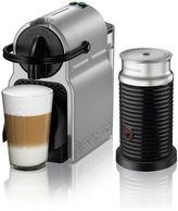 Nespresso by Delonghi Inissia Espresso Machine and Aeroccino Milk Frother Bundle