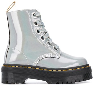 Dr. Martens Molly lace-up ankle boots