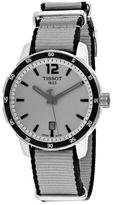 Tissot Quickster Collection T0954101703700 Men's Stainless Steel and Gray Nylon Watch