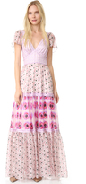 Temperley London Clarion Print Dress