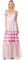 Temperley London Clarion Print Dress