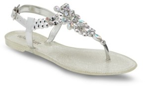 OLIVIA MILLER Dine and Dash Jelly Sandals Women's Shoes
