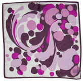 Tom Ford Printed Silk Pocket Square