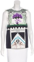 Mary Katrantzou Botanist Sleeveless Top w/ Tags