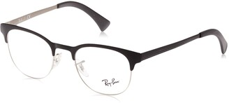 Ray-Ban Unisex's Rx6317 Round Metal Eyeglass Frames Prescription Eyewear
