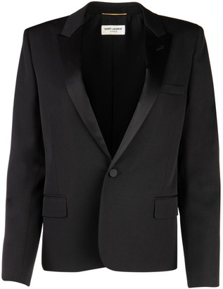 Saint Laurent Single Breasted Blazer