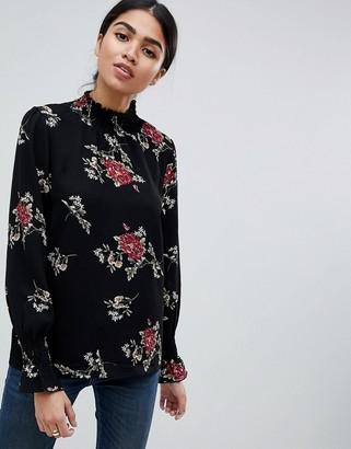 AX Paris High Neck Floral Top