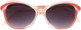 Yves Saint Laurent Pre Owned Oversized Sunglasses