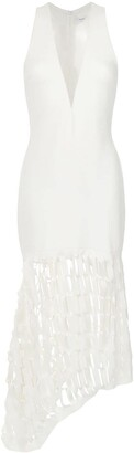Gloria Coelho cut out details gown