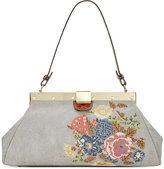Patricia Nash Cross Stitch Ferrara Frame Satchel