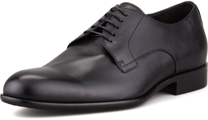 HUGO BOSS Leather Lace-Up Derby Shoe
