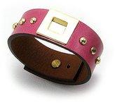 Beautiful Silver Jewelry BSJ Quality Leather Wide Cuff Bracelet