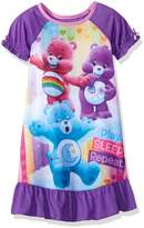 Komar Kids Care Bear Purple Toddler Nightgown for girls (4T)