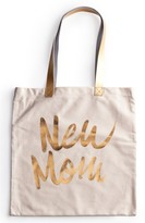 Rosanna 'New Mom' Canvas Tote - White