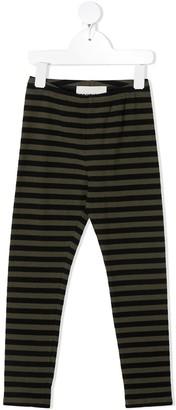 Touriste Striped Print Leggings