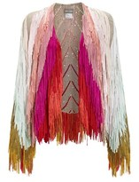 Tim Ryan Multi Sequin Fringe Jacket