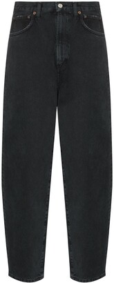 AGOLDE High-Waist Tapered Jeans