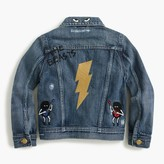J.Crew Boys' limited-edition denim jacket in Max the Monster and the Beasts