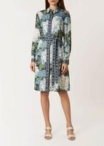 Unlimited Hydrangea Shirt Dress