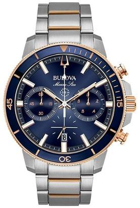 Bulova 98B301 Men's Marine Star Chronograph Watch