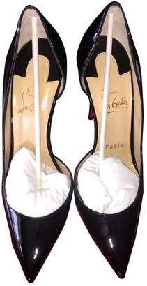Christian Louboutin Iriza Black Patent leather Heels