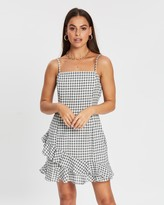 MinkPink Taleah Ruffle Mini Dress