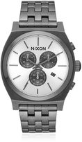 Nixon Time Teller Chrono Watch With White Dial