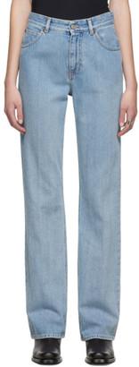 MM6 MAISON MARGIELA Blue Five-Pocket Jeans