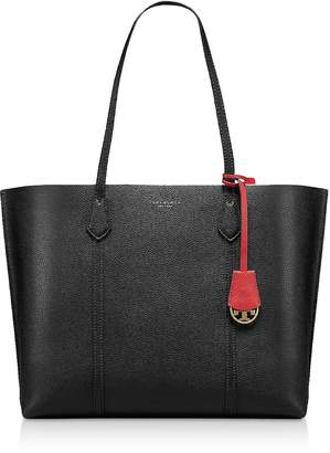 Tory Burch Black Perry Triple-Compartment Tote