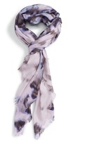 Nordstrom Women's Feathered Cat Cashmere & Silk Scarf