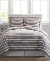 Pem America Liam Reversible 3-Pc. Full/Queen Comforter Mini Set Bedding