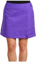 adidas ClimaCool 3-Stripes Skort (Violet/Violet) - Apparel