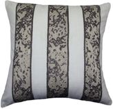 Bed Bath & Beyond Gliteratti Beaded Square Throw Pillow in Ivory