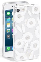 Kate Spade Jeweled Majorelle Iphone 7 Case - White
