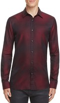 HUGO Elisha Ombré Slim Fit Button-Down Shirt
