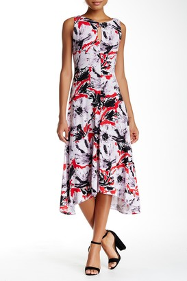 Taylor Sleeveless Jersey Printed Dress