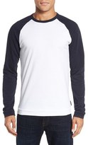 French Connection Men's 'Winter Varsity' Long Sleeve T-Shirt