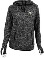 Antigua Women's Pittsburgh Penguins Recruit Pullover Hoodie