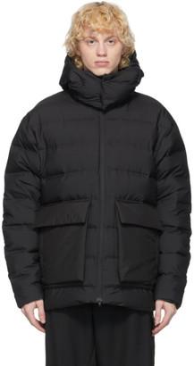 Y-3 Black Down Classic Puffy Jacket