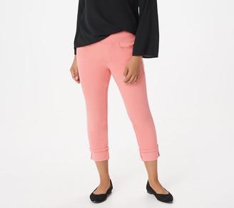 Belle by Kim Gravel Petite Flexibelle Cuffed Jeans