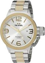 TW Steel Men's CB35 Analog Display Quartz Two Tone Watch