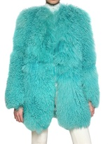 Blumarine Mongolian Fur Coat