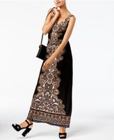 INC International Concepts Ruched Maxi Dress, Created for Macy's